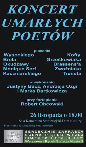 Koncert Umarłych Poetów